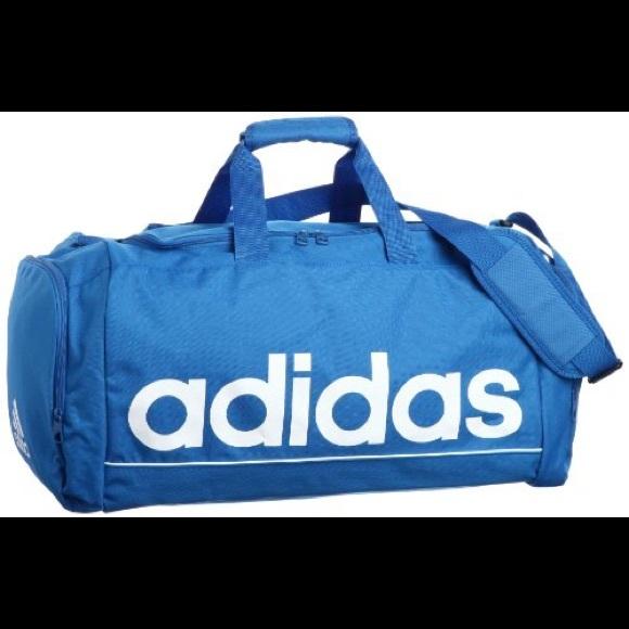 cc75b78288 adidas Handbags - Large Blue Adidas Duffel Bag Gym or Travel Bag